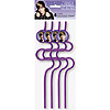DISCONTINUED JUSTIN BIEBER SQUGGLE STRAW PARTY SUPPLIES