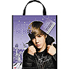DISCONTINUED JUSTIN BIEBER TOTE BAG PARTY SUPPLIES
