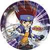 DISCONTINUED BEYBLADE DESSERT PLATES PARTY SUPPLIES