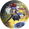 DISCONTINUED BEYBLADE DINNER PLATES PARTY SUPPLIES
