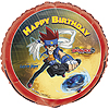 DISCONTINUED BEYBLADE FOIL BALLOON PARTY SUPPLIES
