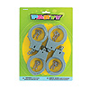 DISCONTINUED HANDCUFFS (4 CT.) PARTY SUPPLIES