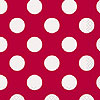 RUBY RED DOTS BEVERAGE NAPKIN PARTY SUPPLIES