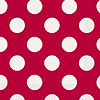 RUBY RED DOTS LUNCH NAPKINS PARTY SUPPLIES