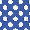 ROYAL BLUE DOTS BEVERAGE NAPKIN PARTY SUPPLIES