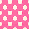 HOT PINK DOTS LUNCH NAPKINS PARTY SUPPLIES