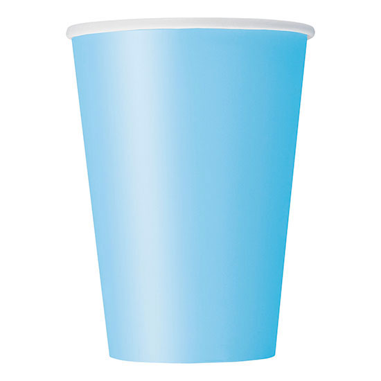 POWDER BLUE 12 OZ. CUPS (120/CS) PARTY SUPPLIES