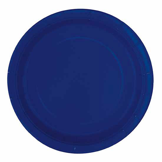 click here for larger picture  sc 1 st  Party Supplies & bulk solid colored plates u0026 napkins party supplies - bulk navy blue ...