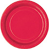 RED 7'' PLATES (240/CS) PARTY SUPPLIES
