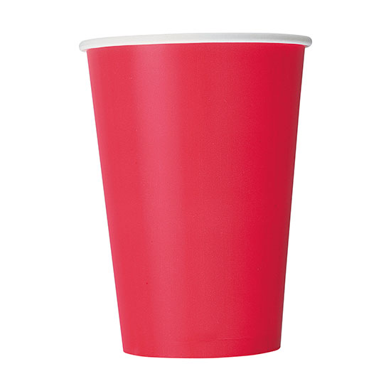 RED 12 OZ CUPS (120/CS) PARTY SUPPLIES
