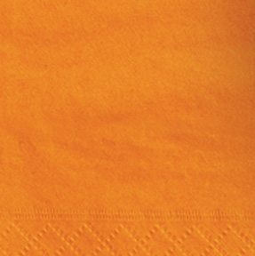 Click for larger picture of PUMPKIN ORANGE BEVERAGE NAPKINS (240/CS) PARTY SUPPLIES