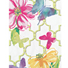 FLORAL BUTTERFLY GUEST NAPKIN (144/CS) PARTY SUPPLIES
