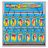 PARTY NUMERAL CANDLE DISPLAY (1/CS) PARTY SUPPLIES