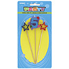 NUMBER 5 STAR CANDLES SET (12/CS) PARTY SUPPLIES