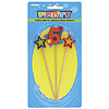 NUMBER 6 STAR CANDLES SET (12/CS) PARTY SUPPLIES