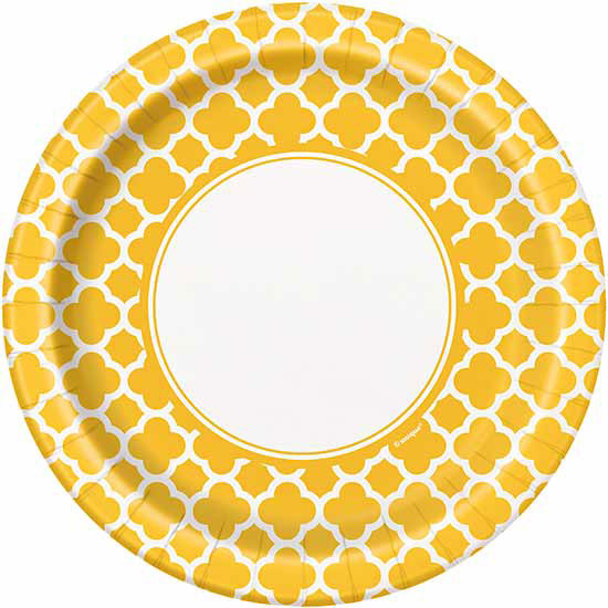 BULK YELLOW QUATREFOIL