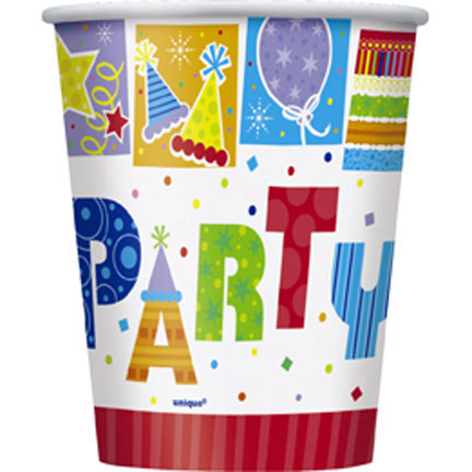 Click for larger picture of PARTY STYLE HOT/COLD CUP PARTY SUPPLIES