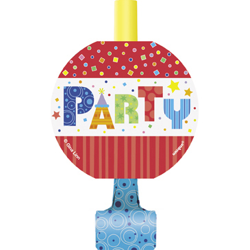 Click for larger picture of DISCONTINUED PARTY STYLE BLOWOUTS PARTY SUPPLIES