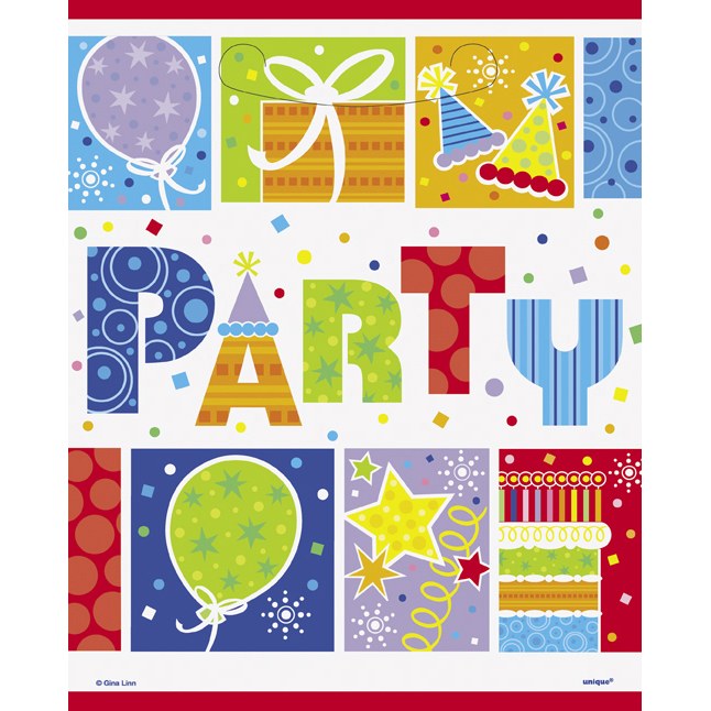 Click for larger picture of PARTY STYLE TREAT SACKS PARTY SUPPLIES