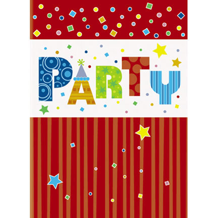Click for larger picture of PARTY STYLE INVITATIONS PARTY SUPPLIES