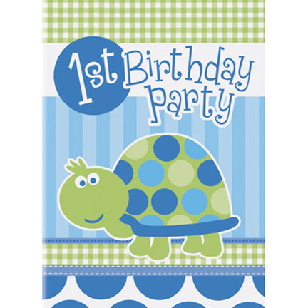 turtle 1st birthday party supplies discontinued turtle 1st bd – Turtle Birthday Invitations