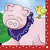 DISCONTINUED FARM FRIENDS LUNCHEON NAPKN PARTY SUPPLIES