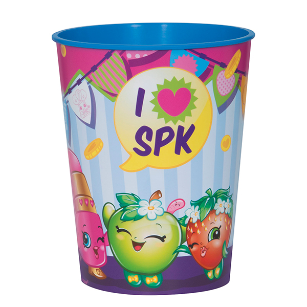 Click for larger picture of SHOPKINS 16OZ CUP (6/CS) PARTY SUPPLIES