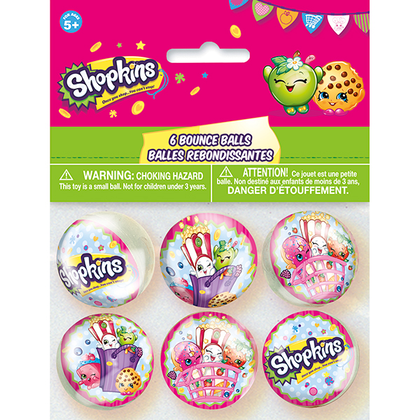 Click for larger picture of SHOPKINS BOUNCE BALL PARTY SUPPLIES