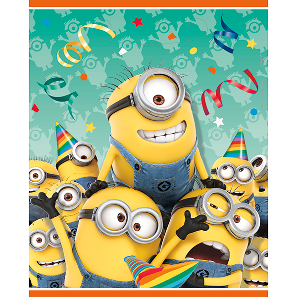DESPICABLE ME TREAT SACK (192/CS) PARTY SUPPLIES