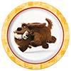 DISCONTINUED SECRET PETS DESSERT PLATE PARTY SUPPLIES