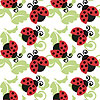 LIVELY LADYBUGS GIFTWRAP PARTY SUPPLIES