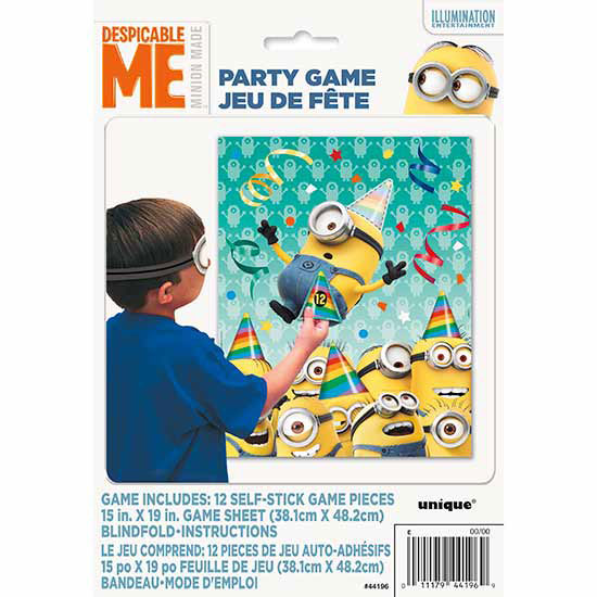 DESPICABLE ME PARTY GAME (12/CS) PARTY SUPPLIES