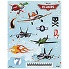 DISCONTINUED PLANES STICKERS PARTY SUPPLIES