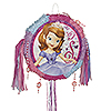 DISCONTINUED SOFIA THE 1ST PULL PINATA PARTY SUPPLIES