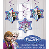 FROZEN HANGING DECORATION 3/PKG PARTY SUPPLIES