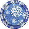 WINTER SNOWFLAKE TABLEWARE