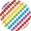 RAINBOW BIRTHDAY DESSERT PLATES PARTY SUPPLIES