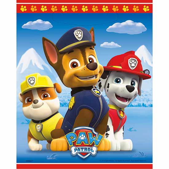 PAW PATROL TREAT SACK PARTY SUPPLIES