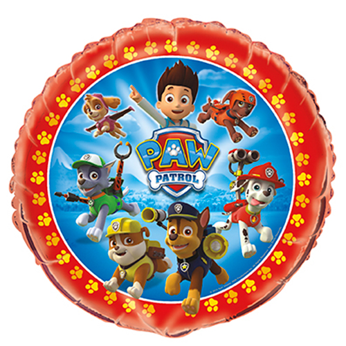PAW PATROL MYLAR BALLOON PARTY SUPPLIES