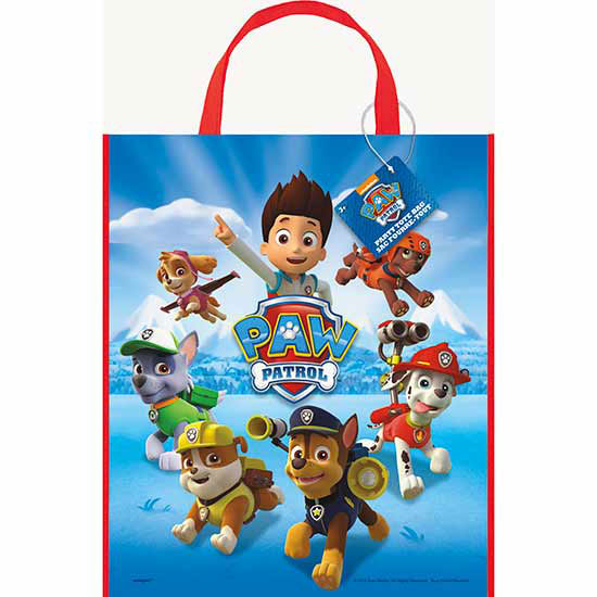 PAW PATROL TOTE BAG PARTY SUPPLIES