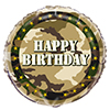 MILITARY CAMO FOIL BALLOON PARTY SUPPLIES
