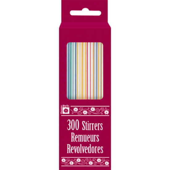 STRAW STIRRERS (3600/CS) PARTY SUPPLIES