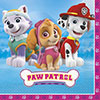 PAW PATROL GIRL LUNCH NAPKIN PARTY SUPPLIES