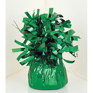 Click for larger picture of FOIL BALLOON WEIGHT - GREEN (6/CS) PARTY SUPPLIES