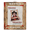 DISCONTINUED RODEO WESTERN WANTED FRAME PARTY SUPPLIES