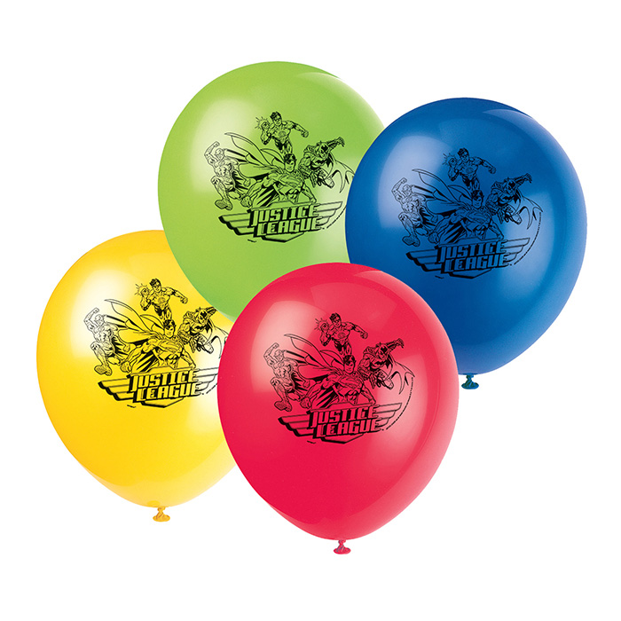 Justice league party supplies latex balloon