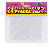 CLEAR PLASTIC TABLECOVER CLIPS (144/CS) PARTY SUPPLIES