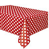 RUBY RED DOTS TABLECOVER PARTY SUPPLIES