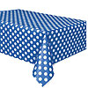 ROYAL BLUE DOTS TABLECOVER PARTY SUPPLIES