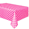 HOT PINK DOTS TABLECOVER PARTY SUPPLIES
